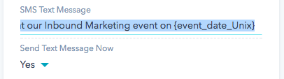 Example of sending date format in HubSpot text messages.png