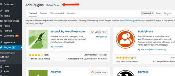 Upload plugin - Inbound Member - HubSpot membership site