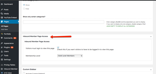 Inbound Member Page Access - HubSpot Membership site