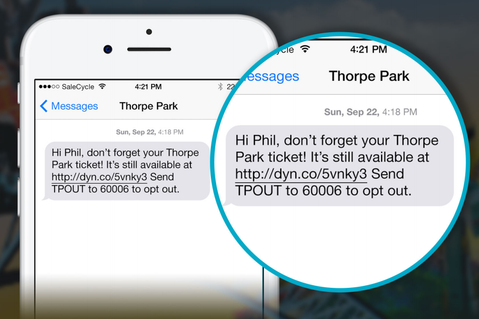Example of personalised text - Thorpe.png